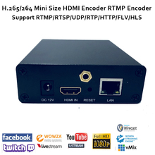 H.265 HEVC MPEG-4 AVC/H.264 HDMI Video Encoder HDMI Transmitter live Broadcast encoder H264 encoder