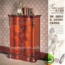 Solid Wood Chest of Drawers Five Drawer Cabinet(China)