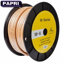 1 meter MPS M-6MK2 99.99997% OCC speaker wire Speaker audio cable power AC cable For Audio CD player DVD DCA Tube Amp