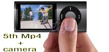 Good quality Real 8GB 5th Gen Flash Mp3 MP4 Player With Camera+Gift box Free Shipping 1pc/lot(China)