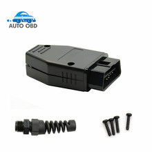 OBD Male Plug OBD2 16Pin Connector OBD II Adaptor OBDII Connector J1962 OBD2 Connector 1962 in stock Free Shipping