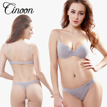 CINOON women intimates Top quality women underwear bra brief sets cotton bra & brief sets bralette brassiere lingerie set