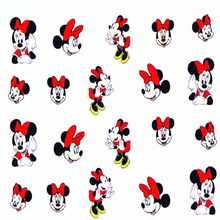 TOMTOSH 1pcs/Art Nail Mickey Cartoon Mouse Nail Art Water Transfer Sticker Decal Sticker For Nail Art Decoration(China)