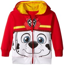 Riley Anderson Fashion Spring and Autaum kids cartoon jeckets boys and girls cotton fleece warm jackets kids casual hooded coat