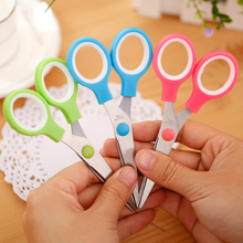 1pcs 12.5cm School Stationery Student Scissors Paper Cutting for Kids Handmade Craft Cutter DIY Scrapbook Scissors