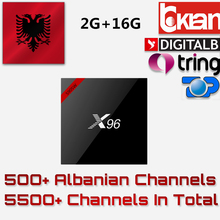 Buy Albanian Italy IPTV X96 2G/16G S905W Android 7.1 H.265 4K French Netherlands Portugal Europe IPTV Subscription Samrt IP TV Box for $70.08 in AliExpress store