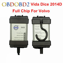 Full Chip For Volvo Vida Dice Newest 2014D Diagnostic Tool Multi-Language For Volvo Dice Pro Vida Dice OBD2 Auto Scanner