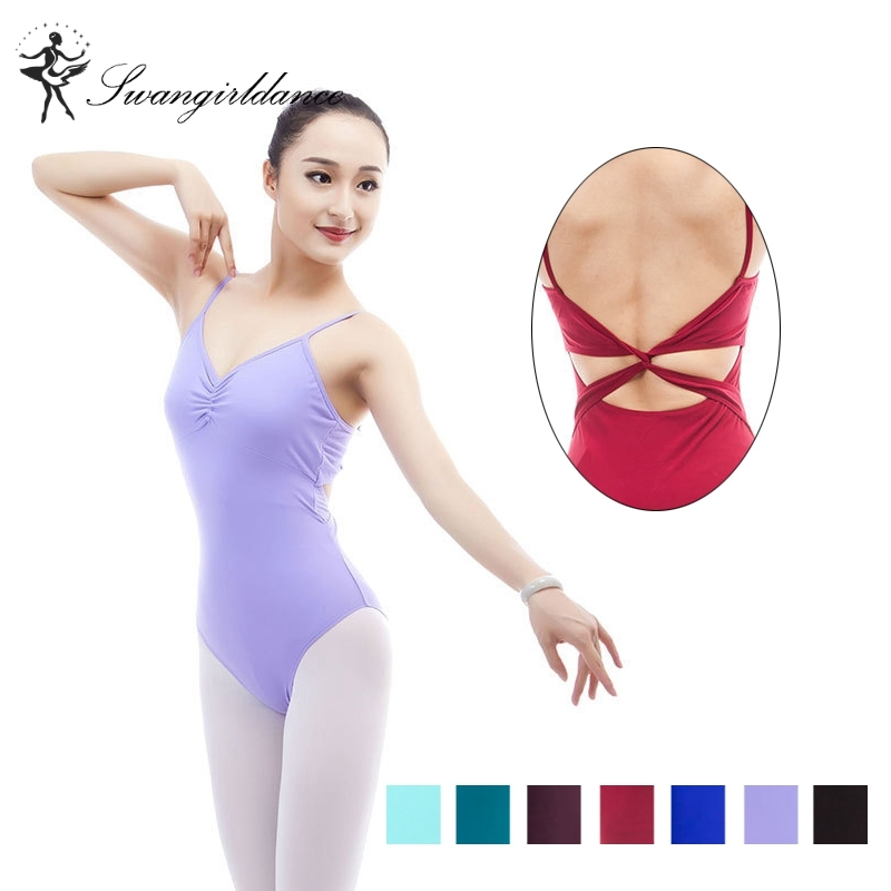 sleeveless matt lycra ballet black leotard for women dance clothes ballet dancewear costumes adult ML6035