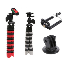 New Flexible Mini Octopus Tripod Holder Stand Mount for Gorillapod for GoPro Camera Phone