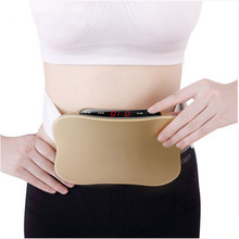 Rechargeable women waist slimming belt belly.Electric back shoulder buttock vibration anti cellulite massager.Fat burner machine