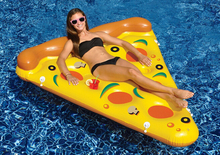 Hot Brand Pizza Inflatable Floating Plate Children Adult Swimming Pool Outdoor Toys Funny Special Novelty item Cool Design
