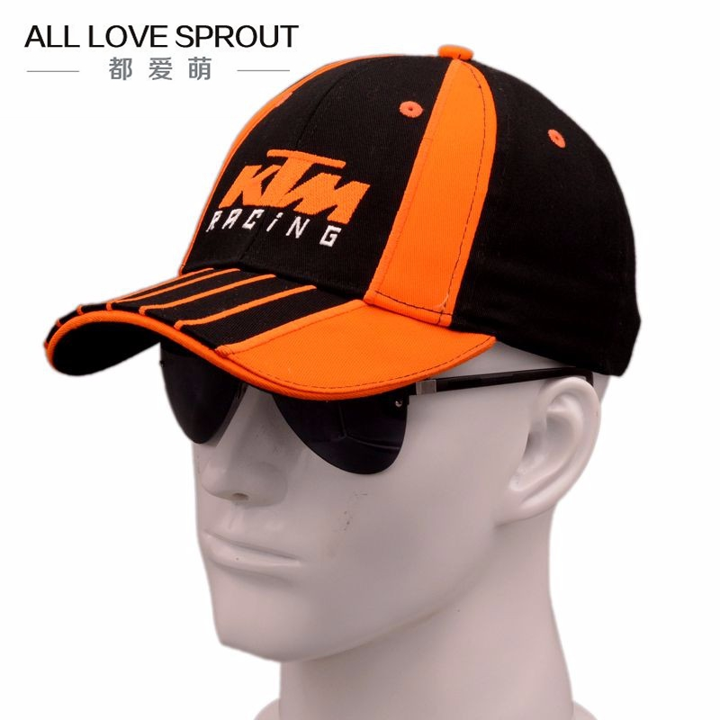 Wholesale 2016 Latest Ktm Racing Cap Motocross Riding Caps Women Men Casual Adujustable Hat Baseball Leisure Baseball Caps<br><br>Aliexpress