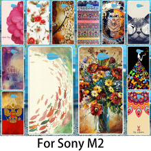 Buy Akabeila Phone Case Sony Xperia M2 Cases S50H D2303 D2305 D2306 dual D2302 Phone Cover Silicon Plastic Shell Coque for $1.46 in AliExpress store