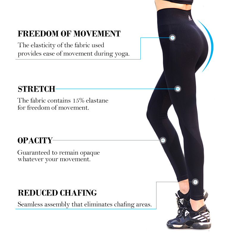 Womens Yoga Pants High Elasticity (4)