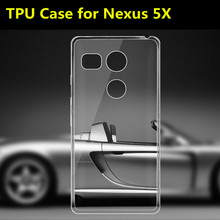 TPU Phone Case For LG For Google Nexus 5X, Soft Light 0.6mm Ultra-thin Mobile Phone Bag For Nexus 5x (2015)(China)