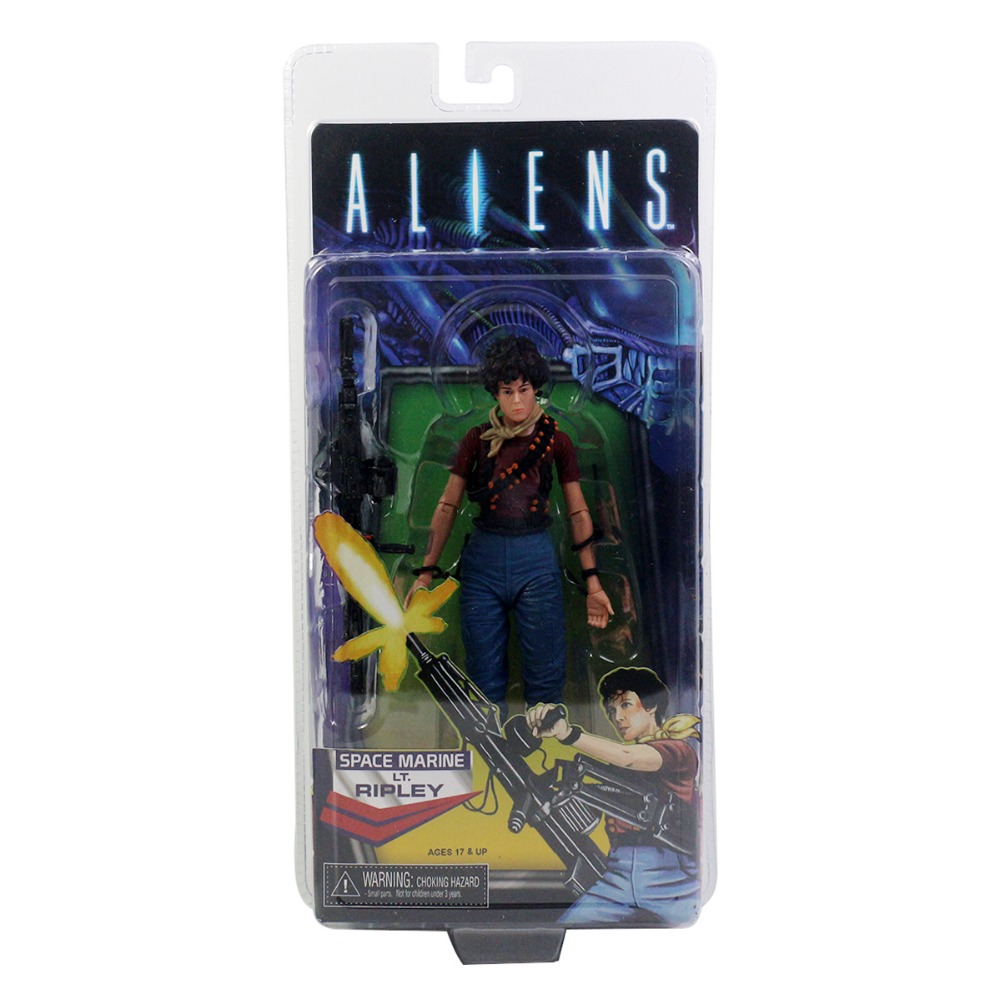 Comic Aliens Space Marine LT. RIPLEY 6.7 Action Figure Free Shipping<br>