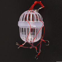 Anmuka New Arrival Fishing Tackle Sea Monster with Six Strong Spherical Fishing Hooks 1Pcs