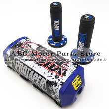 Motocross Handlebar Pads Metal Mulisha PROTECTOR Breast Pad & Motorcycle  PROTAPER handle bar grips KTM KLX CRF Kayo KTM Orange