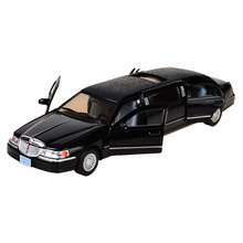 BOHS Extended Limo Toy Car Limousine  Diecast Vehicle  Models 1:32 Alloy Model  Children's Toys