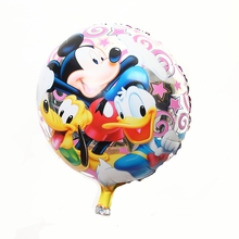 Rushed Sale Printed Ballon Wholesale 18inch Mylar Balloon for Hello Kitty Car-styling Baloon Decoration Mariage Vespa Party