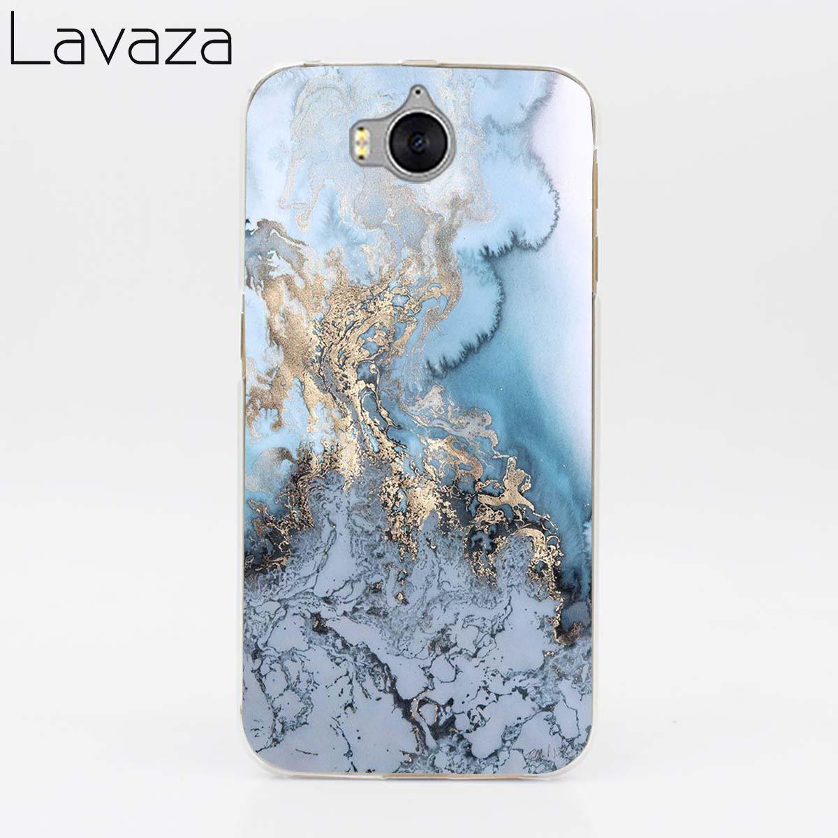 Lavaza Pretty Marble Mobile Case for Huawei Honor Y3 Y5 Y6 Y7 ii 6 6A 6C 6X 7 7A 7C 7X 8 9 10 Lite Pro 2018