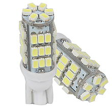 2pcs LED Bulb Reversing Lamps T10 42SMD 3528 DC12V Clearance Lights W5W 1210 Reading Lamps License Plate Lights #HP