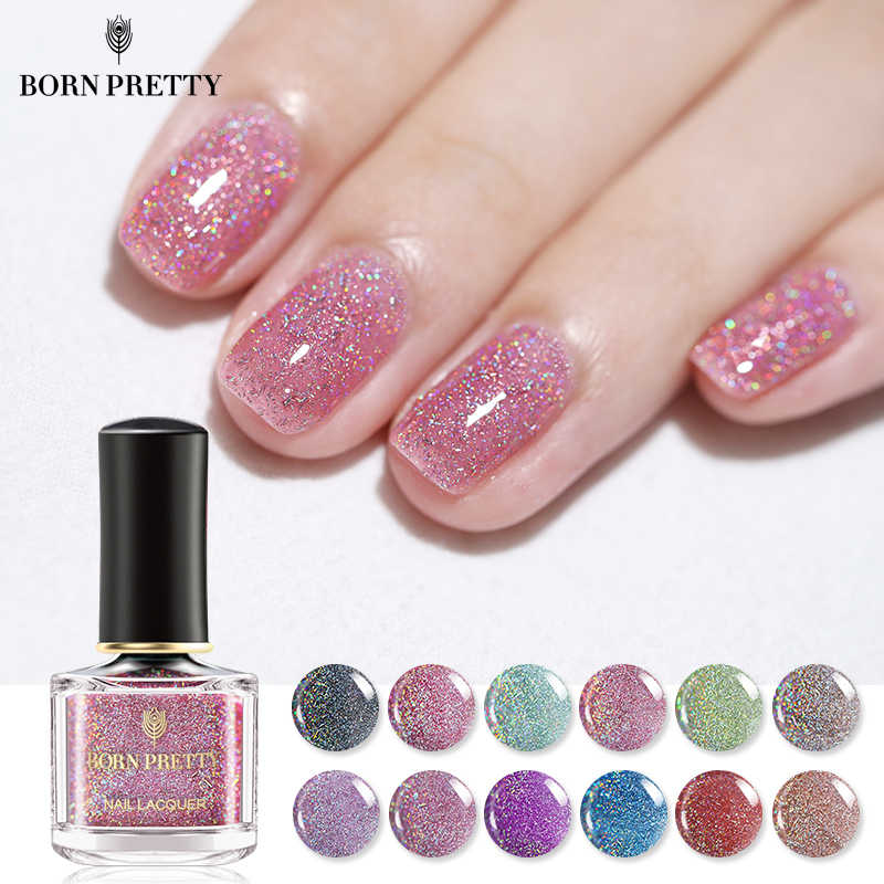 Detail Feedback Questions about BORN PRETTY Holographic Sequins Nail ...