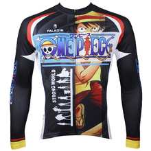 Anime Cosplay One Piece Naruto Men Cycling Jersey Quick Dry Ropa Ciclismo Bike Clothing Bicycle Maillot Ciclismo Sportswear