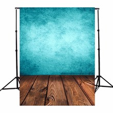3x5ft Blue Board Wood Photography Background Baby Children Photographic Backdrop For Studio Photo Prop Cloth 90 x 150cm light(China)