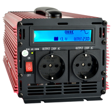 Low price universal 2500W inverter (Peak 5000W) pure sine wave power inverter with LCD digital display