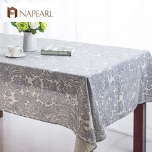 Nappe Table Cloth  Dining TableCloth European style Printed Table Cover Overlay