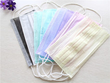 10Pcs Dental Disposable Medical Dust Mouth Surgical Face Mask Respirator(China)