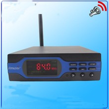 NEW FU-X01BK 1w FM PLL radio broadcast transmitter with Bluetooth module +Rubber antenna+power supply KIT(China)