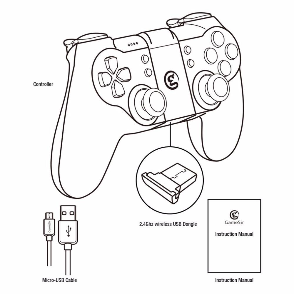 GameSir T1s Gamepad Bluetooth Wireless Gaming Controller