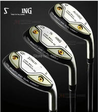 Authentic type hollow iron wooden golf iron group 4.5.6.7.8.9.P,A,A/C(China)