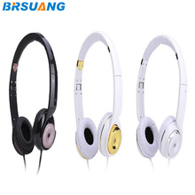 10pcs/lot New Hi-Fi Stereo EP13 On-Ear Headphones With Remote and Microphone For iPhone Samsung Galaxy HTC Huawei Sony Mi Tab PC