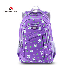 RUIPAI Backpack Schoolbag Hello Kitty Backpack Kids Backpack School Bags For Girls Rabbit Pattern Cartoon Primary Students Bag