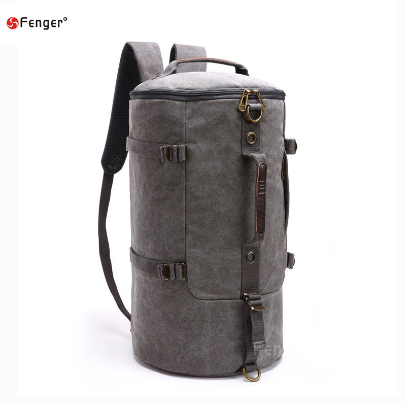 High capacity Men Fashion Designer Vintage Canvas Big Size Men Travel Bags Luggage Backpacks outdoors mountaineering backpack<br><br>Aliexpress