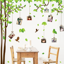 Removable wall stickers decorative photo frames family tree forever memory tree living room sofa bedroom TV backdrop stickers
