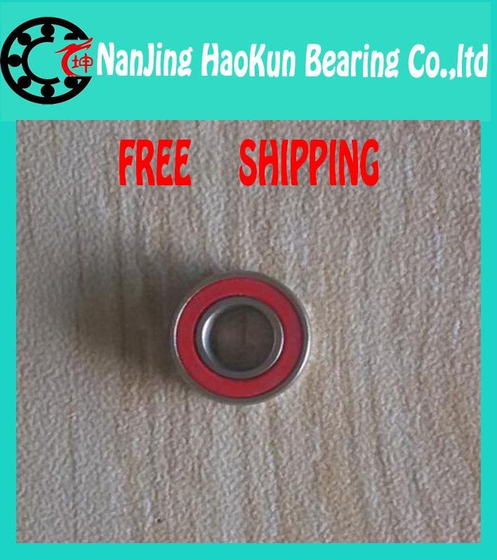 Free Shipping COOL RED SEALS 2PCS SMR623 2OS CB 3X10X4MM  Hybrid Fishing Bearings for ABU GARCIA<br><br>Aliexpress