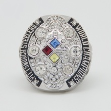 2008 Super Bowl Replica Pittsburgh Steelers Championship Ring(China)