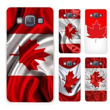 Canada Flag Clear Transparent Cell Phone Case Cover for Samsung Galaxy A3 A5 A7 A8 A9 2016 2017