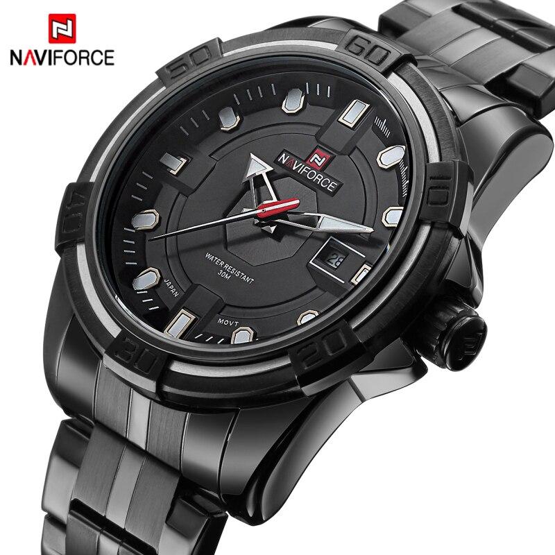 Luxury Brand Fashion Men Sports Watches Mens Quartz Hour Date Clock Man Stainless Steel Military Army Waterproof Wrist watches<br><br>Aliexpress