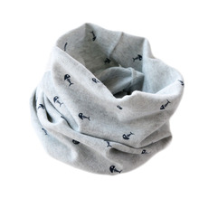 Baby scarf children's 100% cotton scarf autumn spring New style fishbone mustic note pattern boys girls kids scarf-collars