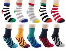 Free Shipping combed cotton brand men socks,colorful dress socks 10pcs=5 pairs/lot Man's high qualtiy  men sox