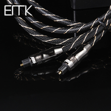 EMK S/PDIF Cord 3ft 6ft 10ft 20ft Digital Optical Fiber Optic Toslink Audio Cable(China)