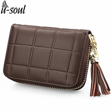 Luxury Cow Leather Mini Women Wallet High Quality Genuine Leather Wallets Lady Purse Short Coin Purse Card Holders Clutch C2143K