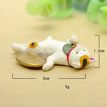 Grocery Lucky cat hand do diy wild gardening micro-landscape multi-meat landscape doll action & toy figures doll anime kids toys(China)