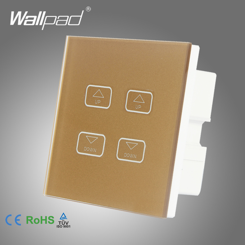 Intelligent 4 Gang 1 Way Dimmer Wallpad Gold Crystal Glass Switch 4 Gang LEd Light Dimmer Dimming Touch Control Switch 1 Way<br><br>Aliexpress