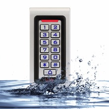 SIB Waterproof IP68 Metal Case RFID 125KHZ ID Keypad Single Door Stand-alone Access Control & Wiegand 26 bit I/O F1215D